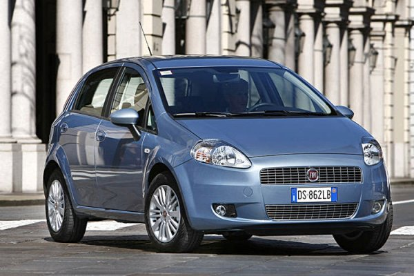 2009 Fiat Grande Punto Natural Power. Grande Punto Natural Power a